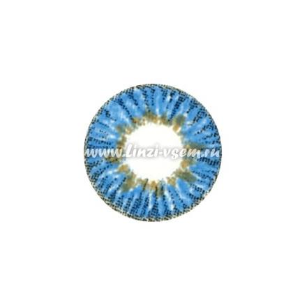 Цветные линзы Dreamcon Elegance Blue Фото 3