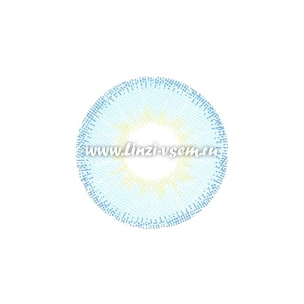 Цветные линзы EOS Fuzzy Pop Blue mini