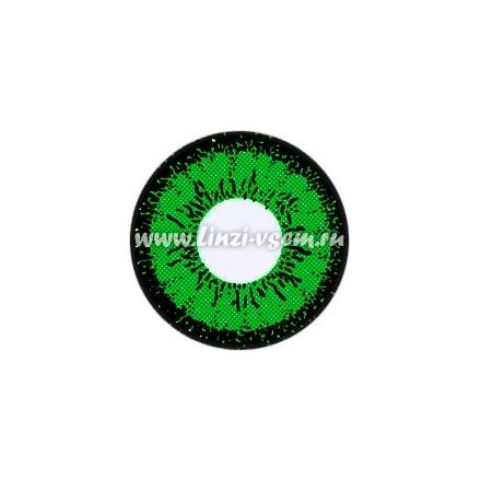 Цветные линзы EOS V209LB Green Фото 3